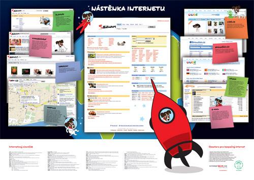 Nástěnka  internetu