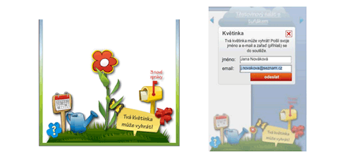 Květinka - screenshot