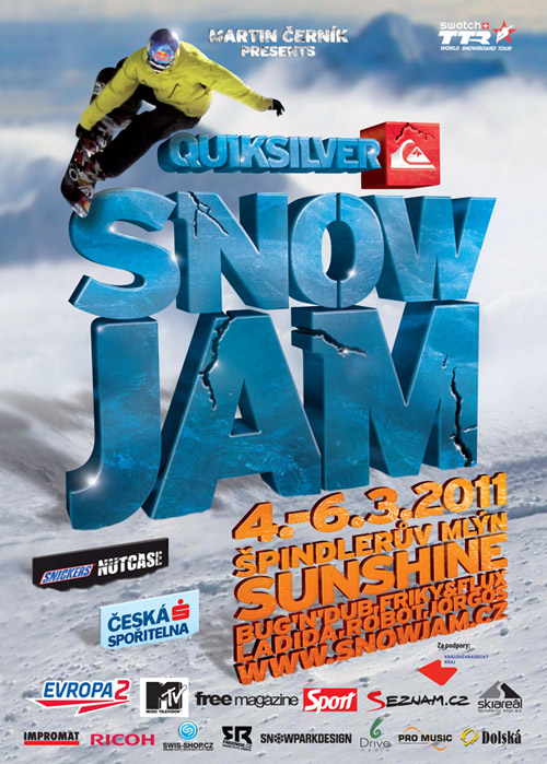 SnowJam - Flyer