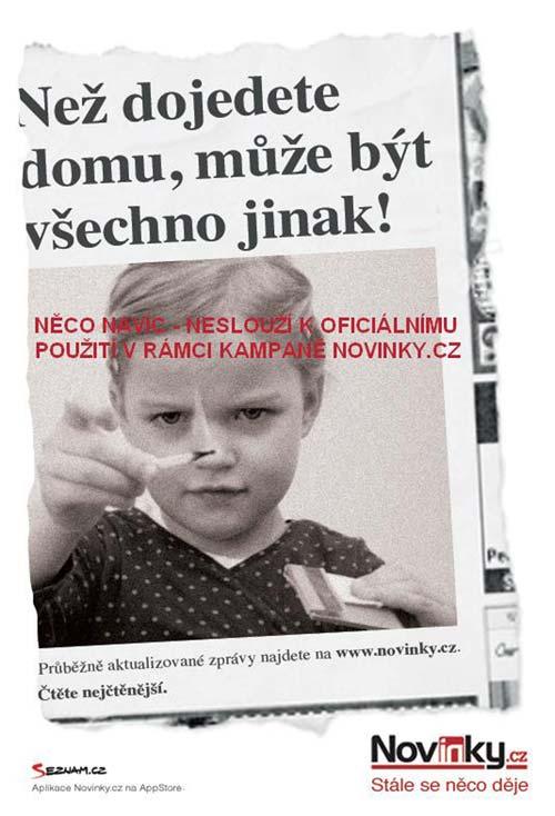 Novinky.cz - plakát Vizuál navíc