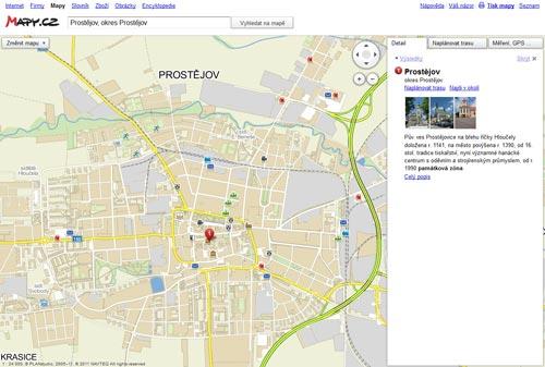 Screenshot - nové informace