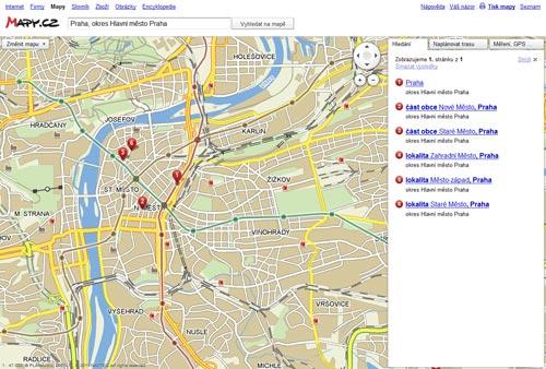 Screenshot - pražské metro