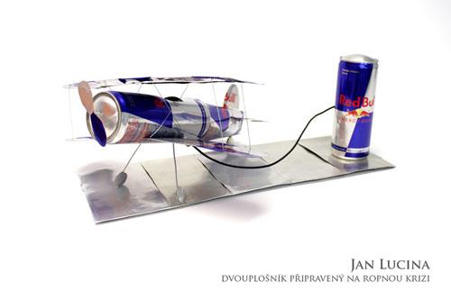 Red Bull - letadlo