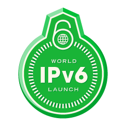 World IPv6 launch day - logo