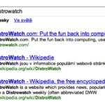 "Hľadanie ""distrowatch"""