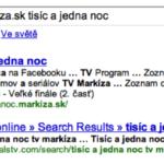 """Hľadanie """"tv markíza.sk tisíc a jedna noc"""""""