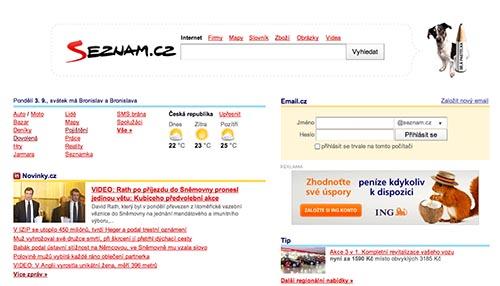 Bílá pastelka na webovce