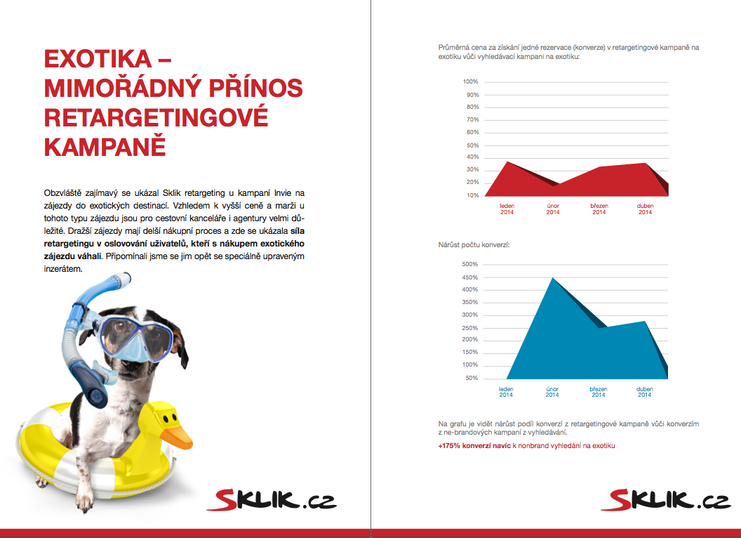 Případová studie Sklik Retargeting s Invia.cz