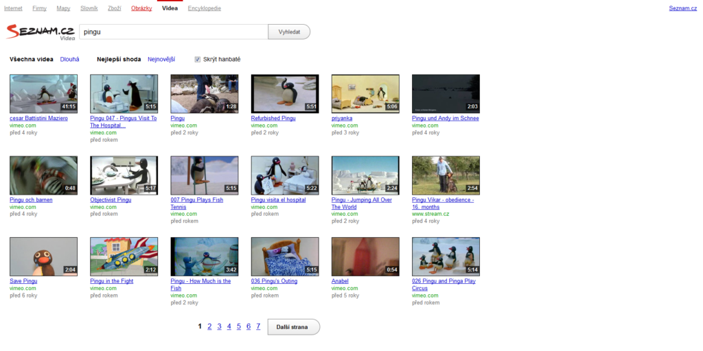 Hledání videí yandex