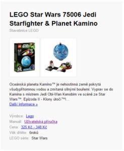 lego star wars 75006 – Seznam.cz