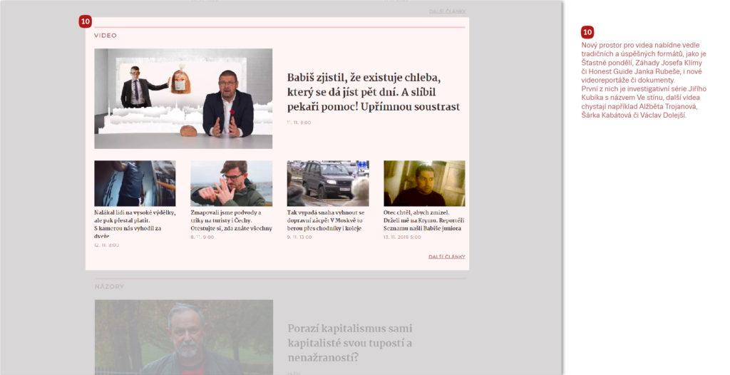 Hlavní zpravodajská relace Televize Seznam.
