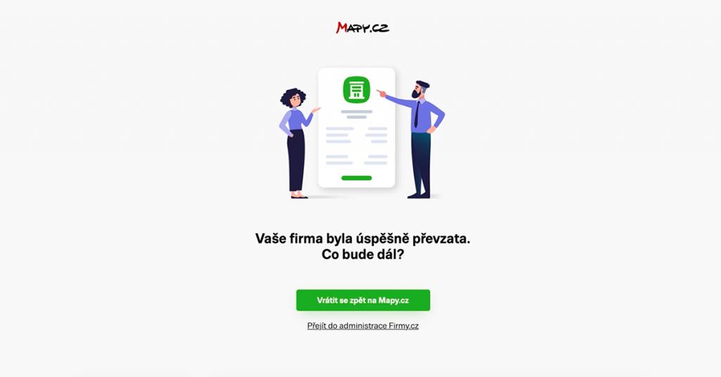 Převzetí firmy z Mapy.cz